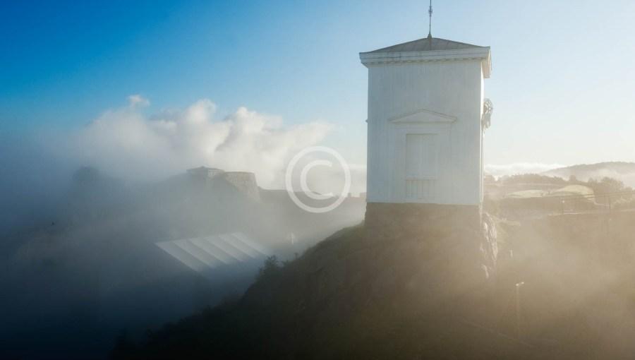 Klokketårnet i tåke 4