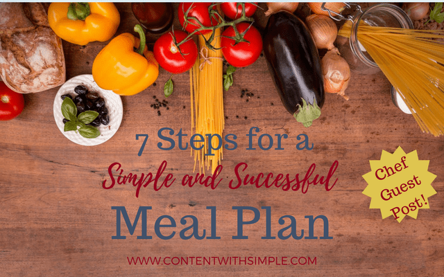 7 Steps for Simple and Successful Meal Planning