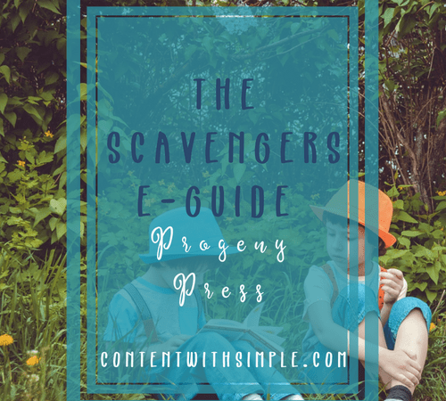 The Scavengers eGuide from Progeny Press