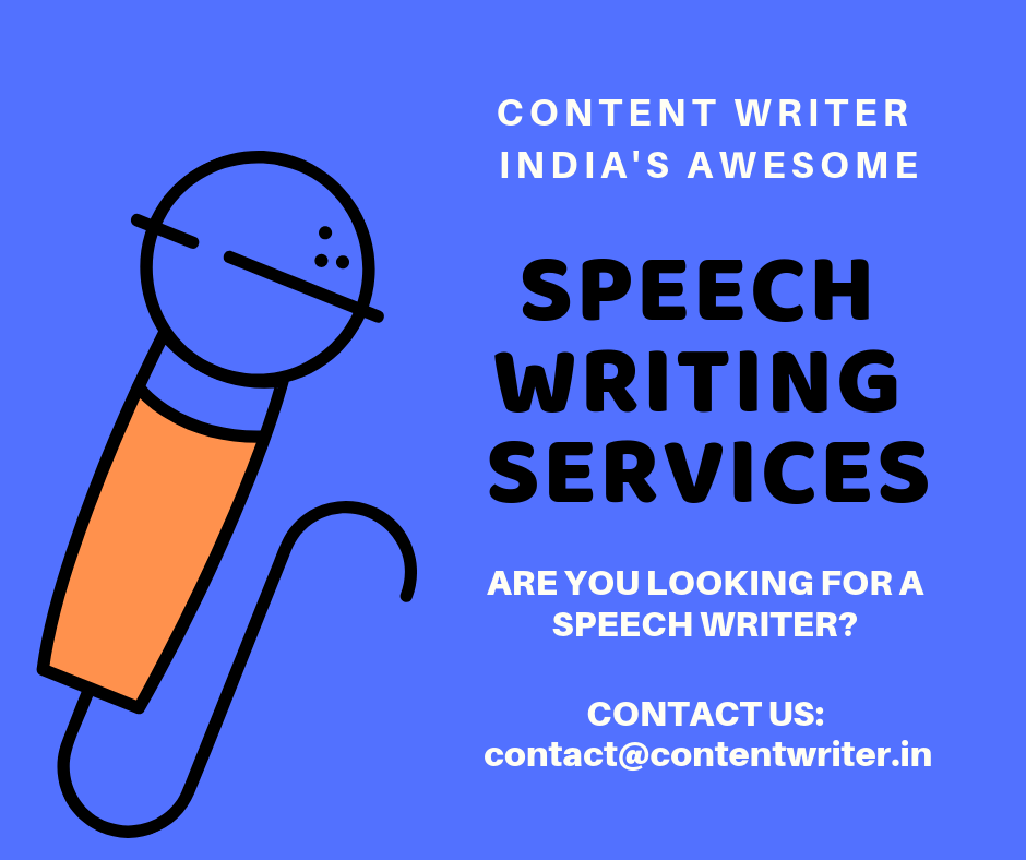 Speech Writing Services India