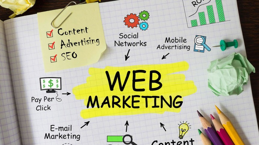 For online visibility you need Website
