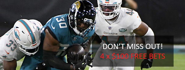 4 x $100 Free Bets