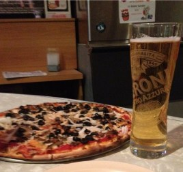 Our pies taste best with a tall Peroni