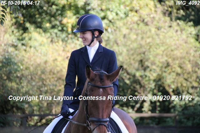 Unaffiliated Dressage Competition 16th October 2016