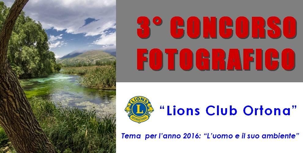 """3° CONCORSO FOTOGRAFICO """"Lions Club Ortona"""" - fotolibera contest"""