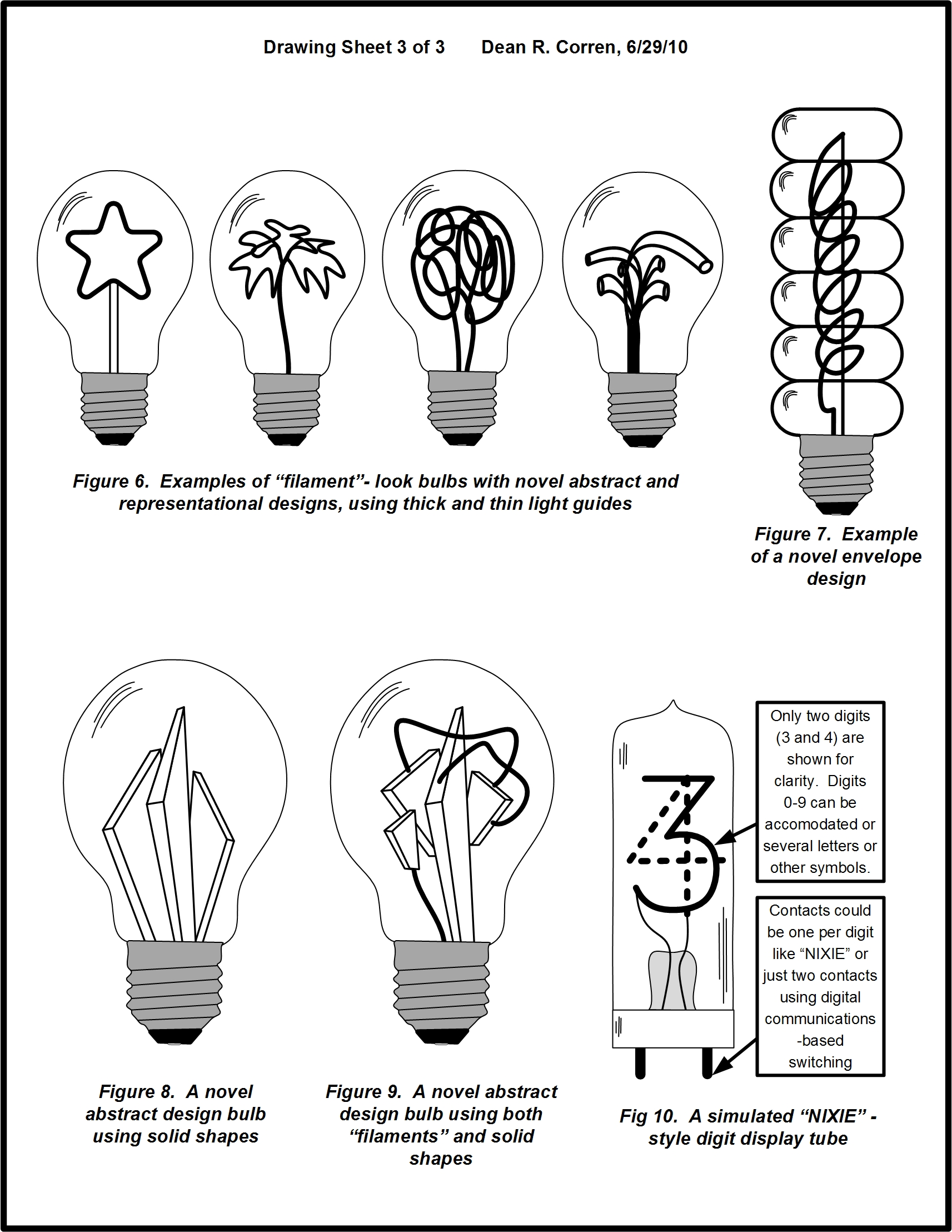 High Efficiency Light Bulb With Incandescent Look