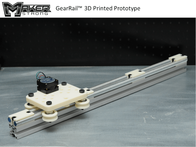 Low Cost 3D Printed Linear Motion System Create The