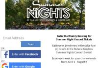 Summer Nights Concert Series Ticket Giveaway – Stand Chance To Win Tickets To The Botanic Gardens Summer Nights Concert Series