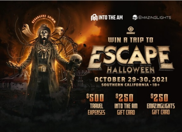INTO THE AM Escape Halloween Giveaway