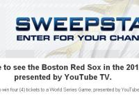 Redsox.com 2018 World Series Sweepstakes – Win Tickets Prize