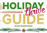 AARP's Holiday Thrive Guide $5,000 Sweepstakes