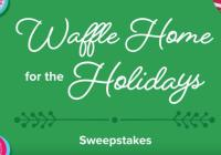 Coca-Cola Waffle Home For The Holidays Sweepstakes