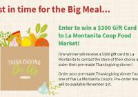 Let Someone Else Do the Cooking Sweepstakes