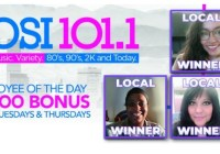 KOSI-FM Employee Of The Day Contest