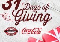 The Boston Market 31 Days Of Giving Sweepstakes
