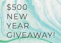 DrJays $500 New Years Giveaway