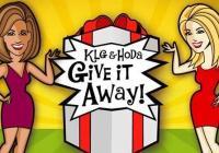 The KLG & Hoda Give It Away Sweepstakes