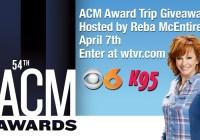 ACM Awards Trip Giveaway - Enter To Win A Trip To Las Vegas