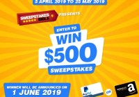 Sweepstakes Bible $500 Cash Giveaway