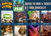 KEZI Wake Up And Win Lane County Fair Sweepstakes - Chance To Win Four Tickets