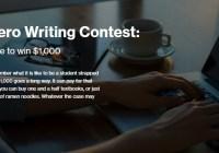 Course Hero $1,000 Writing Contest
