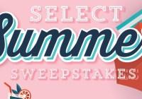 Landrys Select Club Select Summer Sweepstakes
