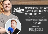 iHeartMedia + Entertainment Catered Brunch With Brady Featuring JP Saxe Sweepstakes