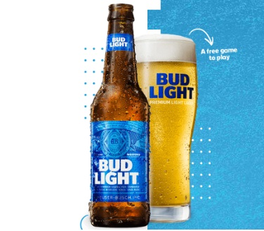 Anheuser-Busch Bud Light NFL Squares Sweepstakes