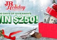 JRCigars.com JR Holiday Sweepstakes
