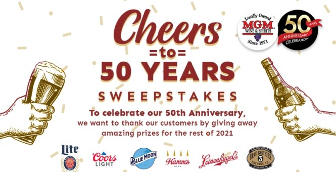 MGM Wine And Spirits Sweepstakes