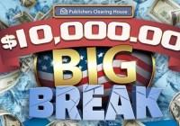 PCH.com $10000 Big Break Giveaway