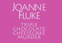 Kensington Books Triple Chocolate Cheesecake Murder Sweepstakes