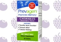 Quincy Bioscience Prevagen Chewables Year Supply Sweepstakes