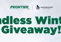 Frontier Airlines Fly Frontier Endless Winter Giveaway
