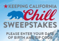 Molson Coors Beverage Coors Light Keeping California Chill Sweepstakes