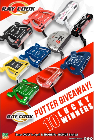 Rock Bottom Golf Ray Cook Putter Giveaway