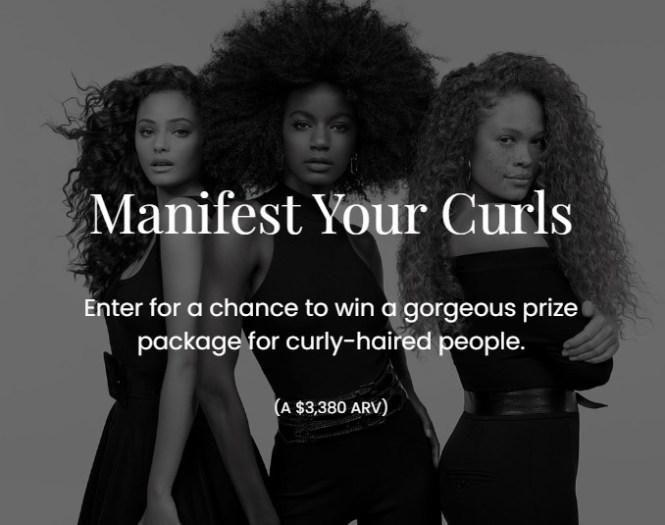 Kerastase Manifest Your Curls Sweepstakes