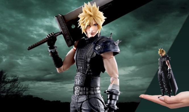 Let Your Geek Sideshow Cloud Strife Giveaway
