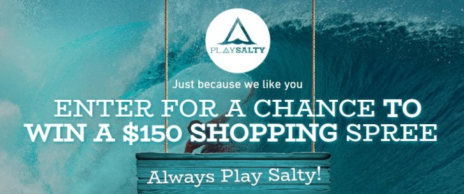Playsalty Shopping Spree Giveaway