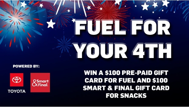 Fuel For Your 4th Sweepstakes