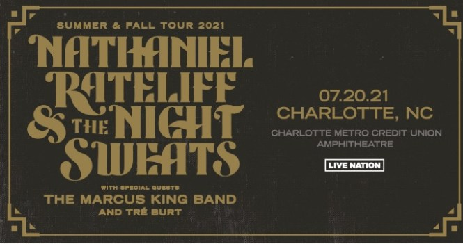Nathaniel Rateliff And The Night Sweats In Charlotte Sweepstakes