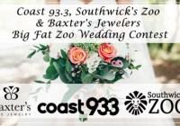 Coast 93.3 Zoo Wedding Giveaway