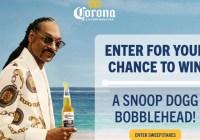 Corona Snoop Sweepstakes