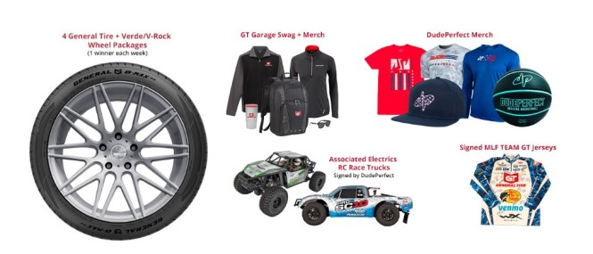 General Tire x Dude Perfect Sweepstakes