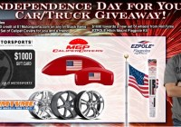 Independence Day For Your Car Truck Giveaway