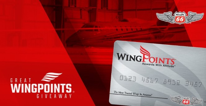Phillips 66 Aviation Great WingPoints Giveaway