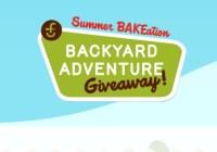 Summer BAKEation Backyard Adventure Giveaway