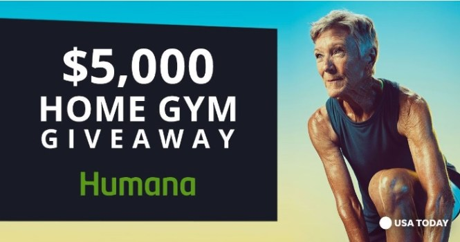 USA Today $5,000 Home Gym Giveaway