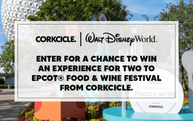 Corkcicle 2021 Food And Wine Festival Sweepstakes