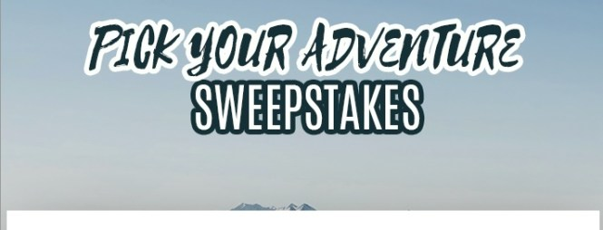 Frankly Media Pick Your Adventure Sweepstakes